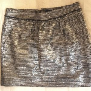 Gap Navy Blue and Sparkly Skirt